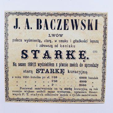 Whisky J.A. Baczewski