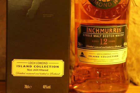 Inchmurrin single malt scotch whisky