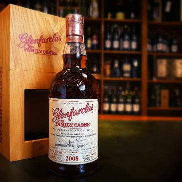 Glenfarclas The Family Casks 2008. Private selection by Jarek Buss