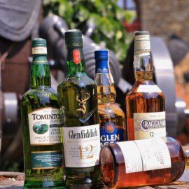 Degustacja whisky ze Seyside, Szkocja