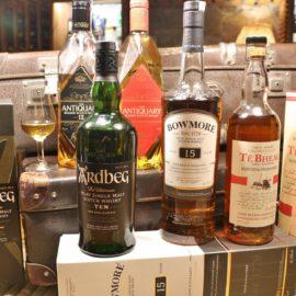 Degustacja whisky Szkocja
